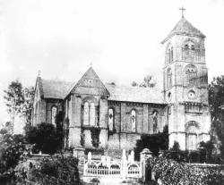 Albury Parish Church before additions